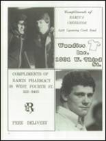 1986 Williamsport Area High School Yearbook Page 210 & 211