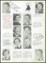 1952 Coshocton High School Yearbook Page 12 & 13