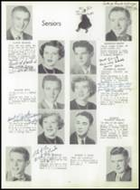 1952 Coshocton High School Yearbook Page 14 & 15