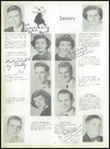1952 Coshocton High School Yearbook Page 16 & 17
