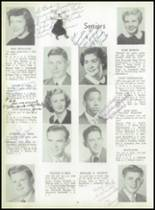 1952 Coshocton High School Yearbook Page 20 & 21