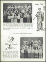 1952 Coshocton High School Yearbook Page 42 & 43