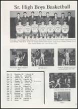 1991 Colcord High School Yearbook Page 22 & 23