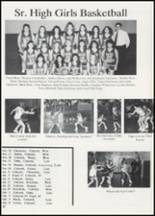 1991 Colcord High School Yearbook Page 24 & 25