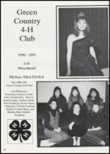 1991 Colcord High School Yearbook Page 36 & 37