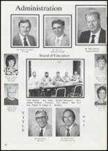 1991 Colcord High School Yearbook Page 40 & 41