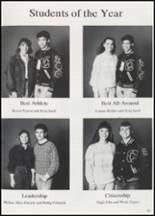 1991 Colcord High School Yearbook Page 44 & 45