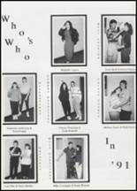 1991 Colcord High School Yearbook Page 46 & 47
