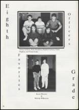1991 Colcord High School Yearbook Page 74 & 75