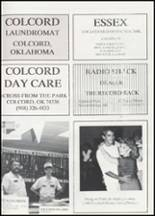 1991 Colcord High School Yearbook Page 90 & 91