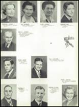 1946 Jackson High School Yearbook Page 20 & 21