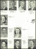 1946 Jackson High School Yearbook Page 24 & 25