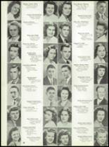 1946 Jackson High School Yearbook Page 34 & 35