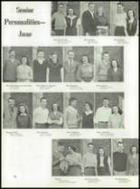 1946 Jackson High School Yearbook Page 38 & 39