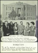 1956 Baird High School Yearbook Page 10 & 11