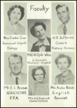 1956 Baird High School Yearbook Page 14 & 15