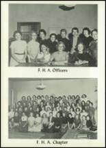 1956 Baird High School Yearbook Page 54 & 55