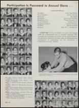 1962 Paris High School Yearbook Page 54 & 55