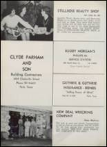 1962 Paris High School Yearbook Page 214 & 215