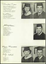 1959 Clyde High School Yearbook Page 16 & 17