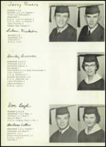 1959 Clyde High School Yearbook Page 20 & 21