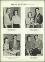 1959 Clyde High School Yearbook Page 54 & 55