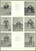 1959 Clyde High School Yearbook Page 56 & 57