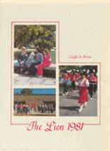 1981 Yearbook McClellan High School