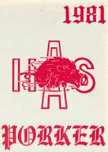 1981 Yearbook Arkansas High School