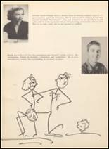 1952 Blanco High School Yearbook Page 20 & 21