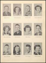 1952 Blanco High School Yearbook Page 34 & 35
