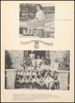 1952 Blanco High School Yearbook Page 52 & 53