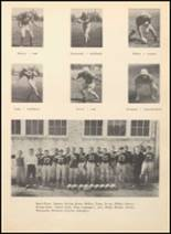 1952 Blanco High School Yearbook Page 54 & 55
