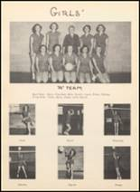 1952 Blanco High School Yearbook Page 56 & 57