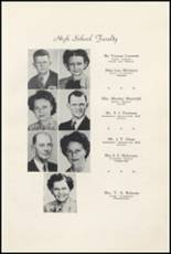 1947 Clyde High School Yearbook Page 18 & 19