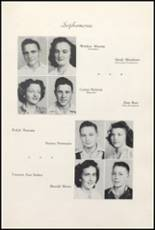 1947 Clyde High School Yearbook Page 46 & 47