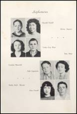 1947 Clyde High School Yearbook Page 48 & 49