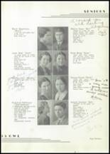 1935 Moore High School Yearbook Page 16 & 17