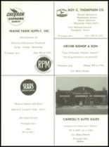 1962 Aroostook Central Institute High School Yearbook Page 62 & 63