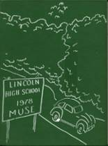 1978 Yearbook Lincoln High School