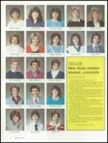 1986 Brunswick High School Yearbook Page 16 & 17