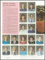 1986 Brunswick High School Yearbook Page 32 & 33
