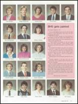 1986 Brunswick High School Yearbook Page 46 & 47