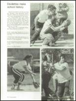 1986 Brunswick High School Yearbook Page 106 & 107