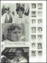 1986 Brunswick High School Yearbook Page 146 & 147