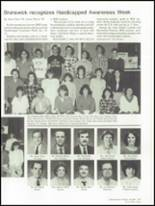 1986 Brunswick High School Yearbook Page 208 & 209