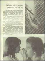 1975 Wayne Memorial High School Yearbook Page 84 & 85