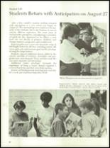 1971 Culpeper County High School Yearbook Page 14 & 15