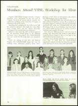 1971 Culpeper County High School Yearbook Page 82 & 83