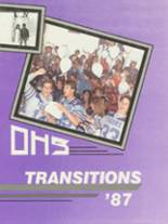 1987 Yearbook Oroville High School